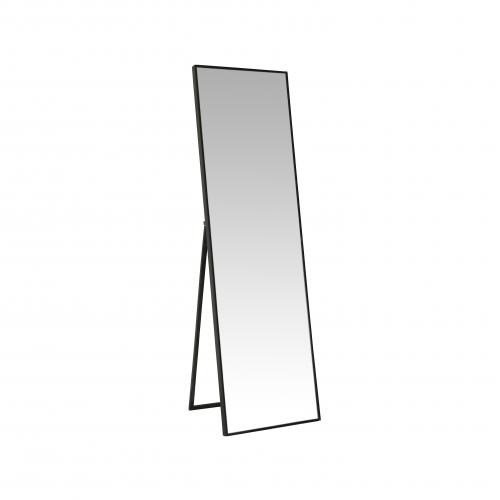 Block & Chisel rectangular standing mirror with black frame