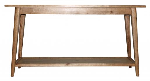 Block & Chisel rectangular wooden console