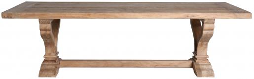 Block & Chisel rectangular wooden coffee table