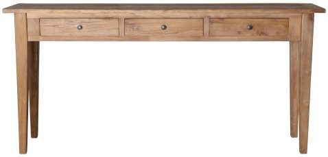 Block & Chisel rectangular recycled elm console table