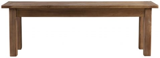 Block & Chisel rectangular wooden bench