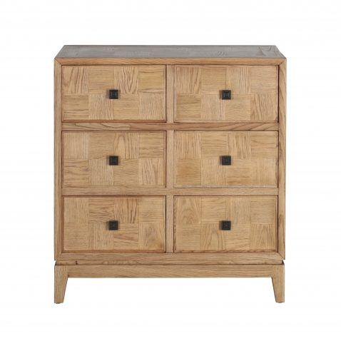 block and chisel 6 drawer chest of drawers