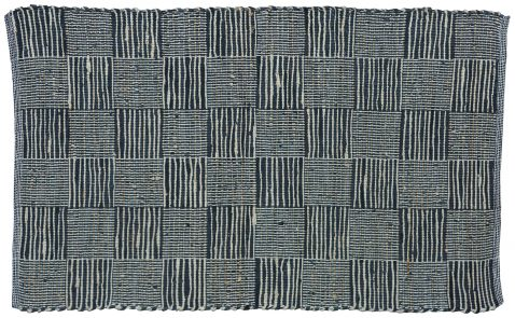 Block & Chisel black & beige carpet