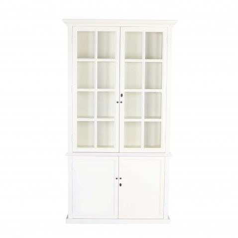 block and chisel white cabinet with doors