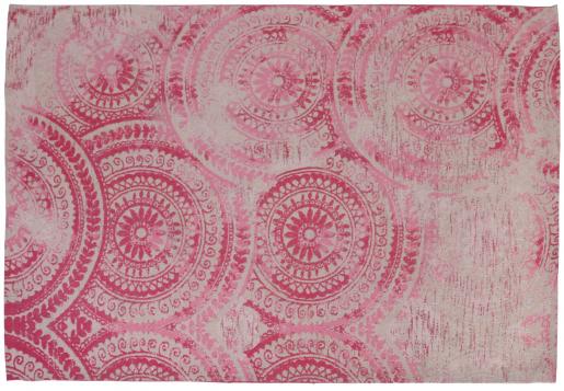 Block & Chisel pink printed rug