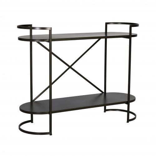 Ferndale industrial metal shelf short
