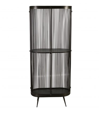 Telford metal cage cabinet with swing doors