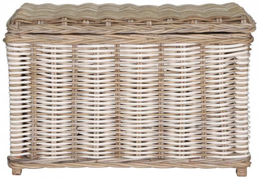 Block & Chisel rectangular kubu rattan basket