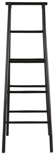 Block & Chisel black rattan ladder