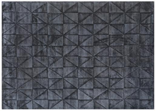 Block & Chisel charcoal printed carpet