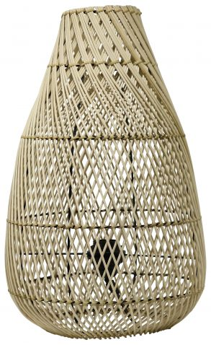 Block & Chisel rattan lampbase