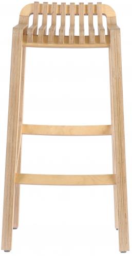 Block & Chisel birch plywood barstool with clear matt sealer