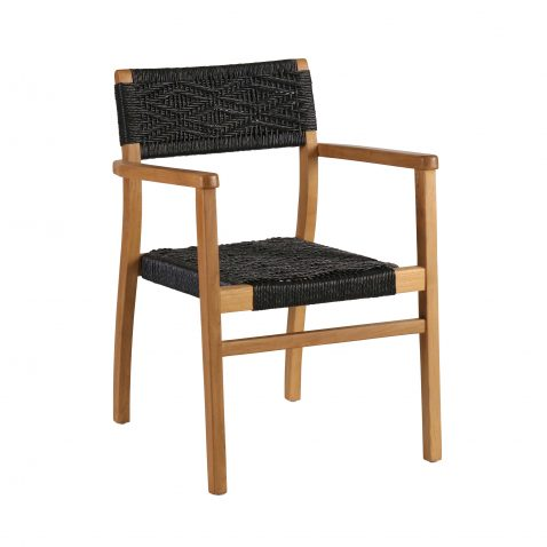 Block & Chisel armchair with teak frame