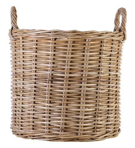 Block & Chisel round kubu rattan basket