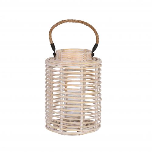 White wash Bamboo lantern