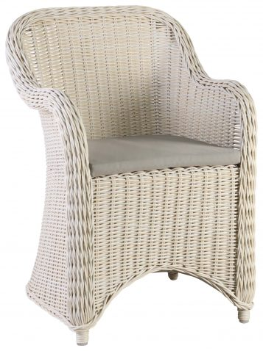 Block & Chisel rattan outdoor armchair