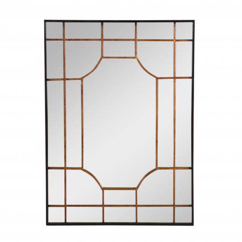 Block & Chisel rectangular mirror