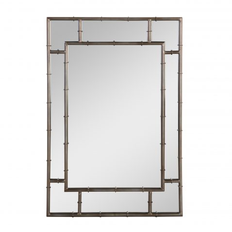 Block & Chisel rectangular mirror