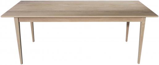 Block & Chisel rectangular natural wooden dining table