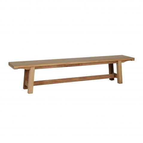 outdoor block and chisel bench