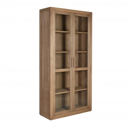 block and chisel wardrobe shelving in brushed oak