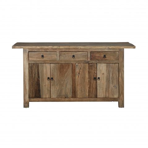 Block & Chisel natural wooden sideboard