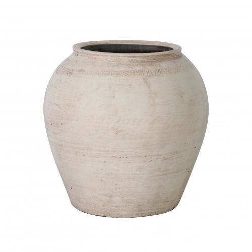 white chinese pot