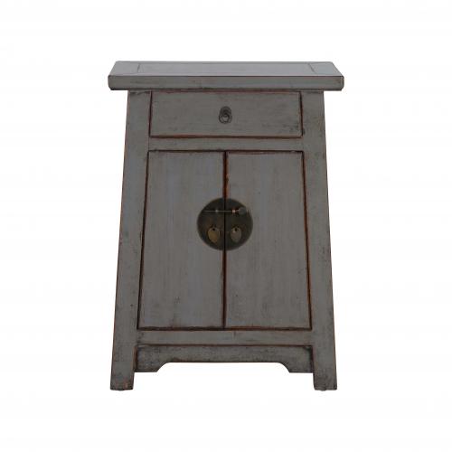 Block & Chisel grey wooden cabinet