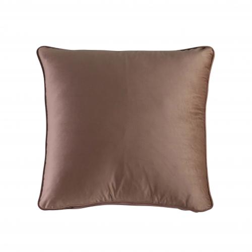 velvet cuhsion in Nori fabric