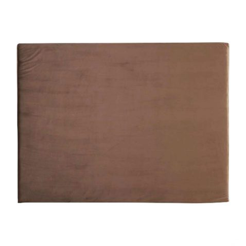 slipcover headboard in Nori velvet