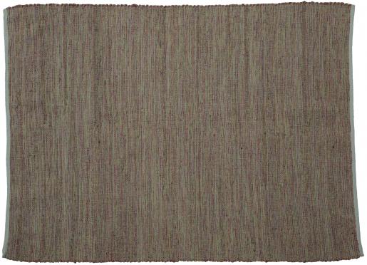 Block & Chisel natural jute carpet with pink detail