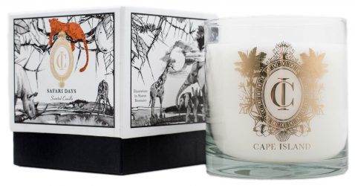 Block & Chisel Safari Days scented candle