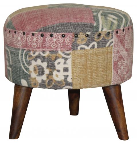 Block & Chisel multi-coloured stool