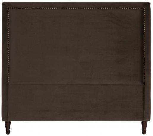 Block & Chisel brown upholstered queen size headboard