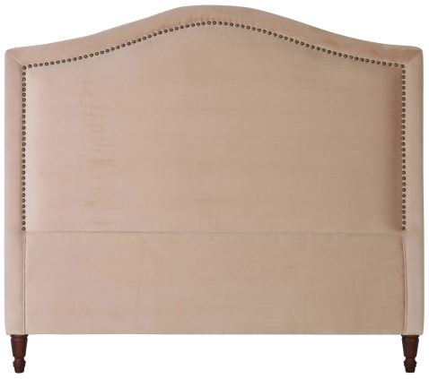 Block & Chisel camel upholstered queen size headboard