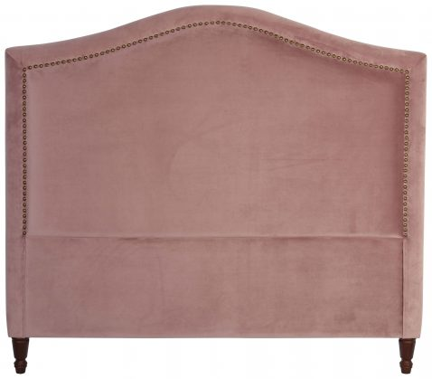 Block & Chisel mink upholstered king size headboard