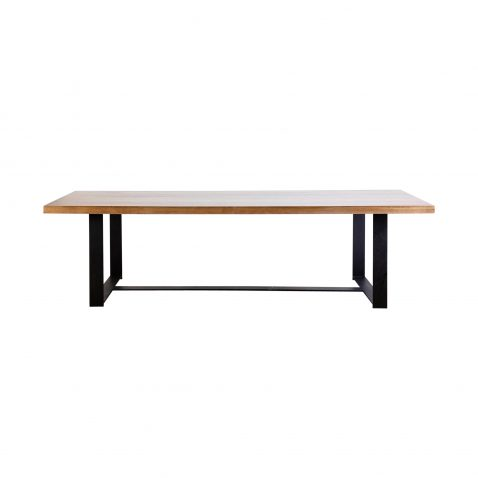 Block & Chisel berlin refectory dining table