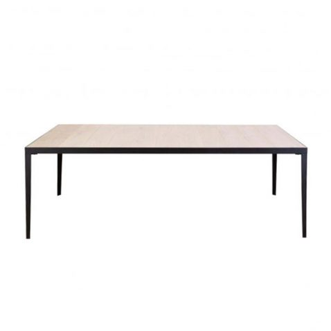 metal and wood Shard contemporary dining table made in south africa