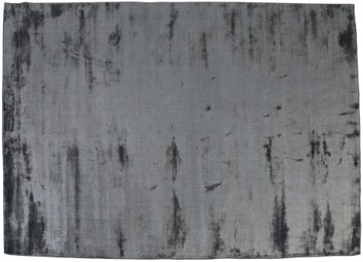Block & Chisel midnight viscose rug