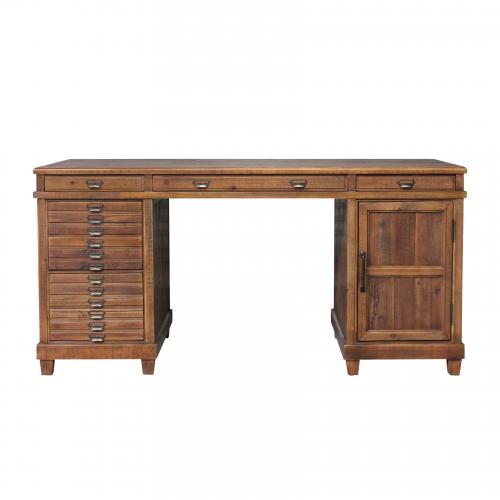 Block & Chisel Desk Old Fir Wood