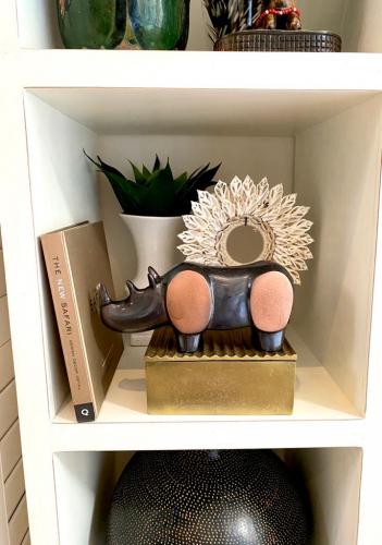 Block & Chisel antique brass box