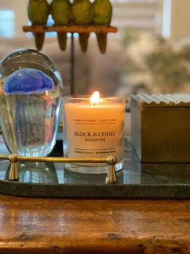 Block & Chisel signature scent candle