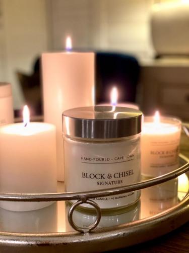 Block & Chisel signature scent raw copper 90 hour