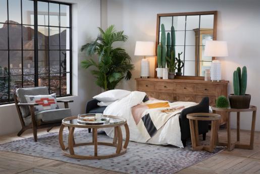 Block and chisel charcoal sleeper sofa