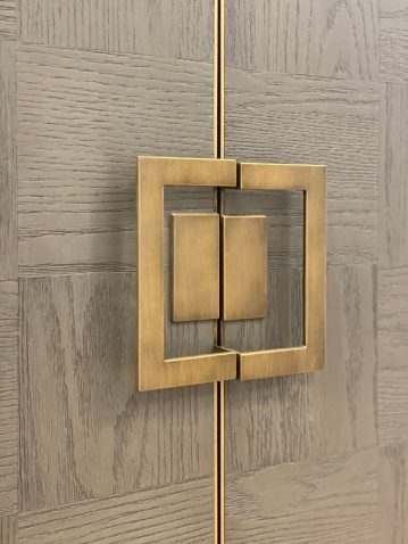 Block & Chisel oak 4 door sideboard