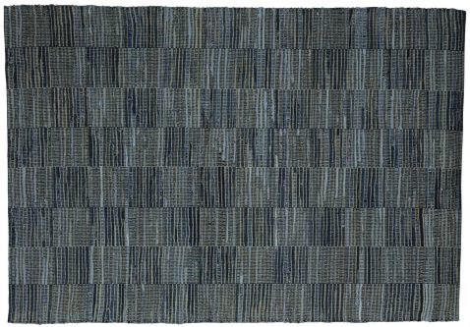 Block & Chisel blue denim carpet