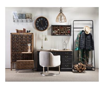 Block & Chisel rectangular fir wood shelving cabinet