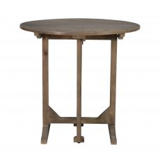 white pine folding occasional table