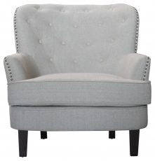Block & Chisel oatmeal upholstered leisure chair