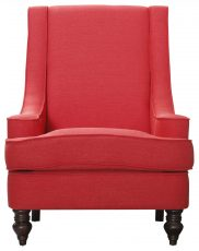 Block & Chisel red upholstered leisure chair